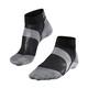 Falke BC6 Miehet sukat , harmaa/musta